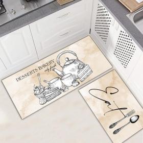 Ejoya Modern Tasarımlı Mutfaklara Özel Paspas 94042