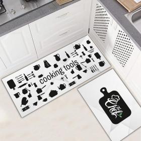 Ejoya Modern Tasarımlı Mutfaklara Özel Paspas 94043