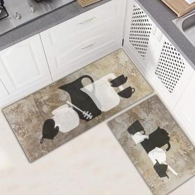 Ejoya Modern Tasarımlı Mutfaklara Özel Paspas 94060