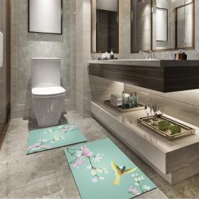 Ejoya Modern Tasarımlı Banyolara Özel Paspas 94076