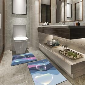 Ejoya Modern Tasarımlı Banyolara Özel Paspas 94077