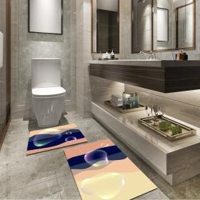 Ejoya Modern Tasarımlı Banyolara Özel Paspas 94079