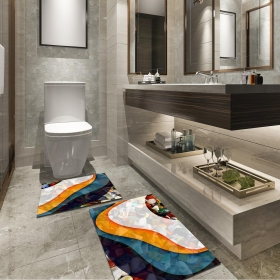 Ejoya Modern Tasarımlı Banyolara Özel Paspas 94081