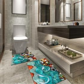Ejoya Modern Tasarımlı Banyolara Özel Paspas 94082