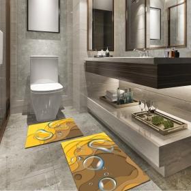 Ejoya Modern Tasarımlı Banyolara Özel Paspas 94083