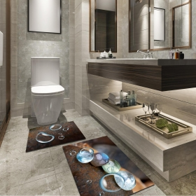 Ejoya Modern Tasarımlı Banyolara Özel Paspas 94084