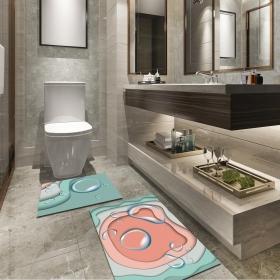 Ejoya Modern Tasarımlı Banyolara Özel Paspas 94086