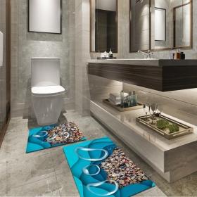 Ejoya Modern Tasarımlı Banyolara Özel Paspas 94088