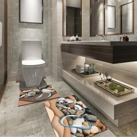 Ejoya Modern Tasarımlı Banyolara Özel Paspas 94089