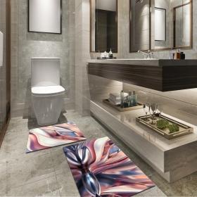Ejoya Modern Tasarımlı Banyolara Özel Paspas 94090