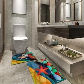 Ejoya Modern Tasarımlı Banyolara Özel Paspas 94091