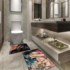 Ejoya Modern Tasarımlı Banyolara Özel Paspas 94092