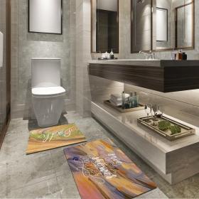 Ejoya Modern Tasarımlı Banyolara Özel Paspas 94093