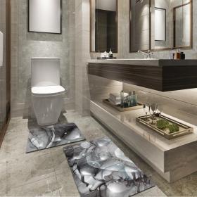 Ejoya Modern Tasarımlı Banyolara Özel Paspas 94094