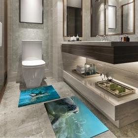 Ejoya Modern Tasarımlı Banyolara Özel Paspas 94098