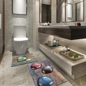 Ejoya Modern Tasarımlı Banyolara Özel Paspas 94099