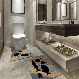 Ejoya Modern Tasarımlı Banyolara Özel Paspas 94105