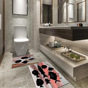 Ejoya Modern Tasarımlı Banyolara Özel Paspas 94106
