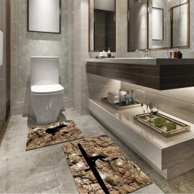 Ejoya Modern Tasarımlı Banyolara Özel Paspas 94107