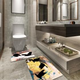 Ejoya Modern Tasarımlı Banyolara Özel Paspas 94108