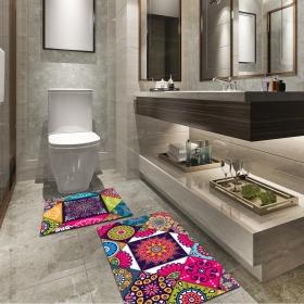 Ejoya Modern Tasarımlı Banyolara Özel Paspas 94109