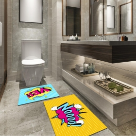 Ejoya Modern Tasarımlı Banyolara Özel Paspas 94112