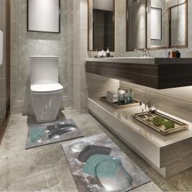 Ejoya Modern Tasarımlı Banyolara Özel Paspas 94113