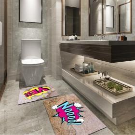 Ejoya Modern Tasarımlı Banyolara Özel Paspas 94114