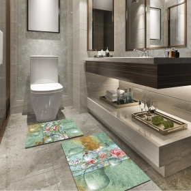 Ejoya Modern Tasarımlı Banyolara Özel Paspas 94117