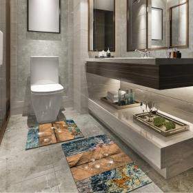 Ejoya Modern Tasarımlı Banyolara Özel Paspas 94118