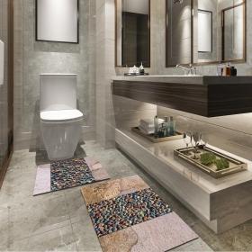 Ejoya Modern Tasarımlı Banyolara Özel Paspas 94119
