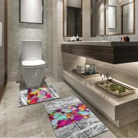 Ejoya Modern Tasarımlı Banyolara Özel Paspas 94121