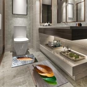 Ejoya Modern Tasarımlı Banyolara Özel Paspas 94124