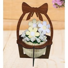 eJOYA Çiçek Bahçesi Kokulu Taş Aranjmanı 94471