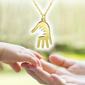 eJOYA Annem ile Elele Altın Kolye 94688