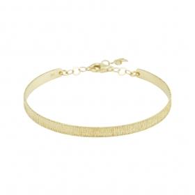 eJOYA 14 Ayar Altın Dövme Bileklik 98153