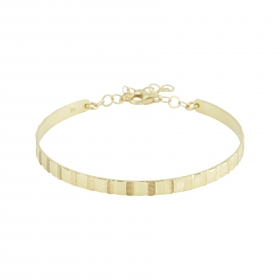 eJOYA 14 Ayar Altın Dövme Bileklik 98156