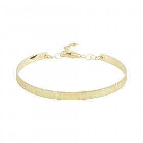 eJOYA 14 Ayar Altın Dövme Bileklik 98157