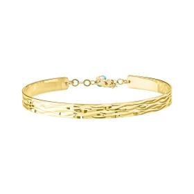 eJOYA 14 Ayar Altın Dövme Bileklik 98160