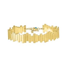 eJOYA 14 Ayar Altın Merdiven Bileklik 98222