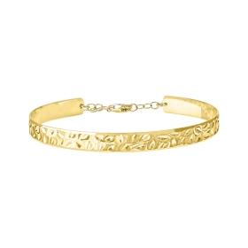 eJOYA 14 Ayar Altın Oryantal Kelepçe Bileklik 98225