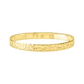 eJOYA 14 Ayar Altın Dövme Kelepçe Bileklik 98226