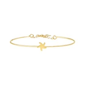 eJOYA 14 Ayar Altın Deniz Yıldızı Spor Bileklik 98262