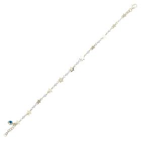 eJOYA 14 Ayar Altın Taşlı Yıldız Bileklik 98305
