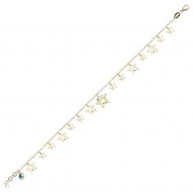 eJOYA 14 Ayar Altın Sallantılı Yıldız Bileklik 98382
