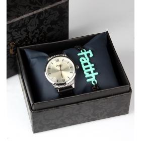 eJOYA Bayan Saat ve Bileklik Seti 79698