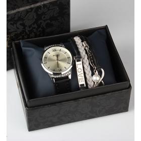 eJOYA Bayan Saat ve Bileklik Seti 79699