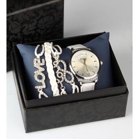 eJOYA Bayan Saat ve Bileklik Seti 79705