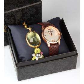 eJOYA Bayan Saat ve Bileklik Seti 79707