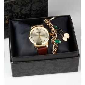 eJOYA Bayan Saat ve Bileklik Seti 79709